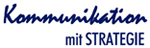 Kommunikation mit Strategie Logo